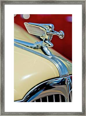 1940 Packard Hood Ornament Framed Print by Jill Reger