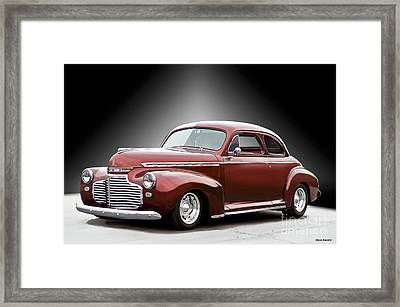 1941 Chevrolet Master Deluxe Coupe II Framed Print by Dave Koontz