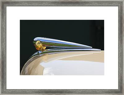 1941 Lincoln Continental Hood Ornament 2 Framed Print
