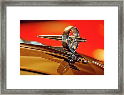 1947 Buick Roadmaster Hood Ornament Framed Print