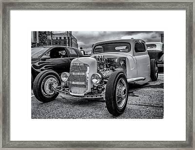 1948 Mercury Pickup Hot Rod Framed Print by Ken Morris