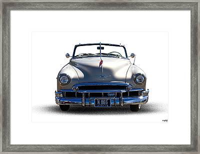 1949 Chevrolet Convertible Framed Print