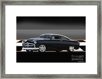 1950 Ford Custom Coupe II Framed Print