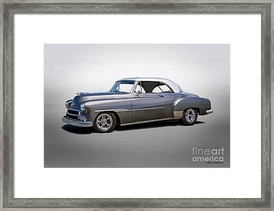 1951 Chevrolet Deluxe 2-door Hardtop Framed Print by Dave Koontz