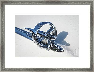 1953 Buick Hood Ornament Framed Print