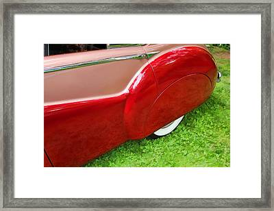1953 Jaguar M K V II Framed Print by Allen Beatty