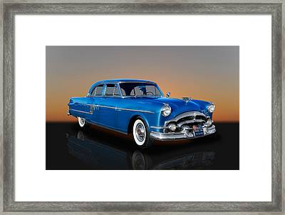 1954 Packard Patrician Sedan - Series 5426 Framed Print