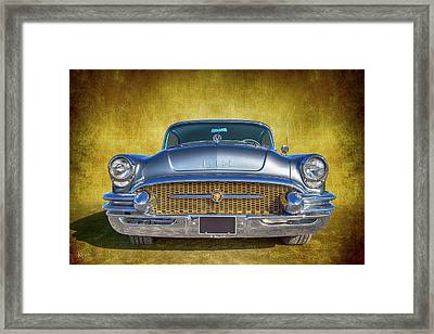 1955 Buick Framed Print
