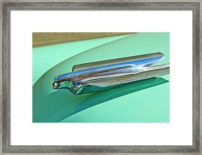 1956 Cadillac Hood Ornament Framed Print by Jill Reger