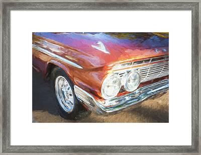 1961 Chevrolet Impala Ss  Framed Print by Rich Franco