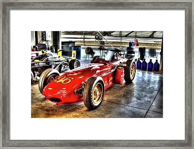 1961 Elder Indy Racing Special Framed Print