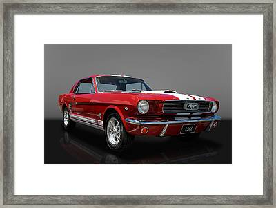 1966 Ford Mustang Coupe Framed Print