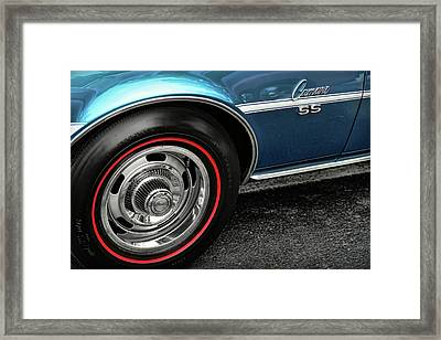 1968 Chevy Camaro Ss 396 Framed Print by Gordon Dean II