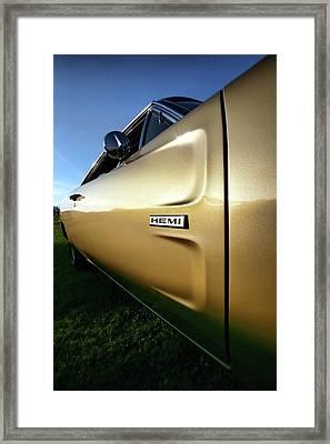 1968 Dodge Charger Hemi Framed Print by Gordon Dean II