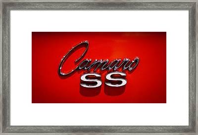 1969 Chevrolet Camaro 2-door Hardtop Framed Print