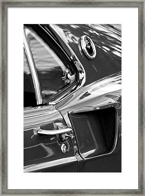 1969 Ford Mustang Mach 1 Side Scoop Framed Print by Jill Reger