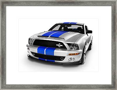 2008 Shelby Ford Gt500kr Framed Print