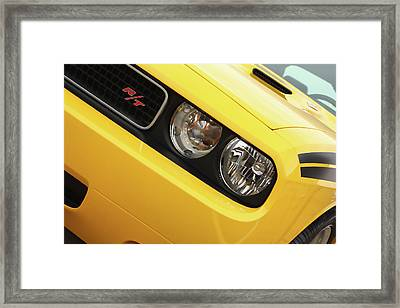2011 Dodge Challenger Rt Framed Print by Gordon Dean II