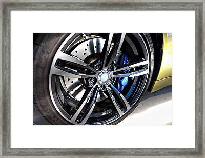 Framed Print featuring the photograph 2015 Bmw M4 by Aaron Berg
