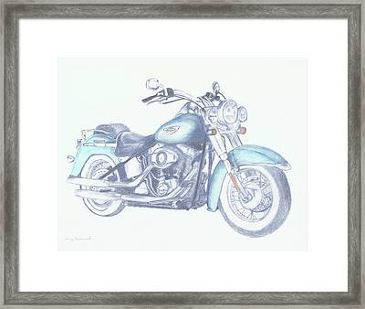 2015 Softail Framed Print