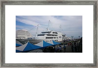 Port City Framed Print