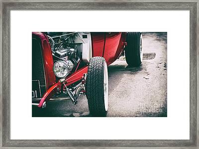 30s Rod Framed Print by Tim Gainey