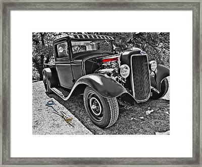 34 Ford Rat Rod Pickup Framed Print