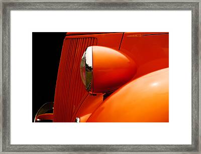 34 Front End Framed Print by Jim  Hatch