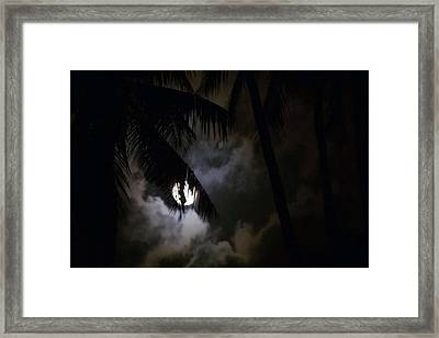 4 Strange Ways The Moon Might Affect Our Bodies Read At News Dot Health Dot Com Framed Print