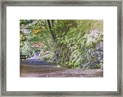 Road To Emmaus Framed Print by Jean OKeeffe Macro Abundance Art