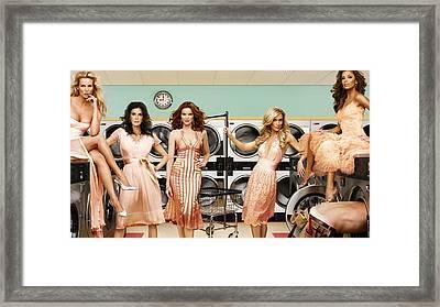 43155 Desperate Housewives Eva Longoria Framed Print