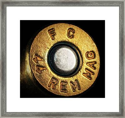 44 Magnum Framed Print by Robert Storost