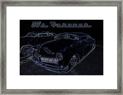 50's Forever Framed Print by Darrell Foster