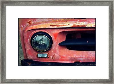 53' International Framed Print by Cathie Tyler