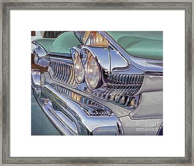 '57 Mercury Framed Print by Stephen Shub