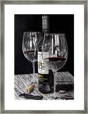 91 Points Framed Print by Brien Cole