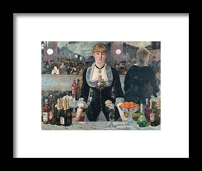 Manet Framed Prints