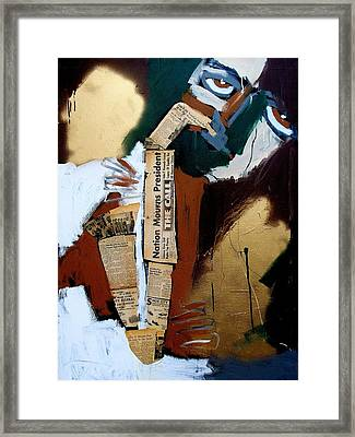 A Blues For Camelot Framed Print by Harold Smith