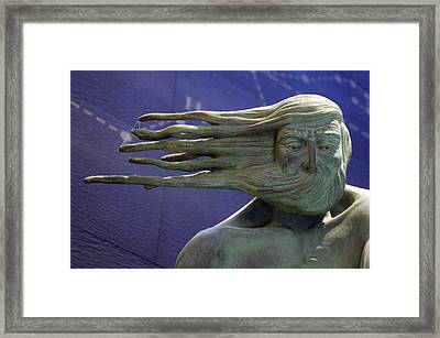 A Blustery Day Framed Print by Jez C Self