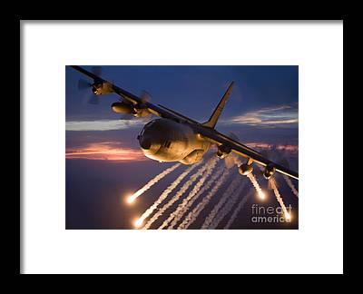 C-130 Framed Prints
