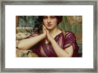 A Classical Beauty Framed Print