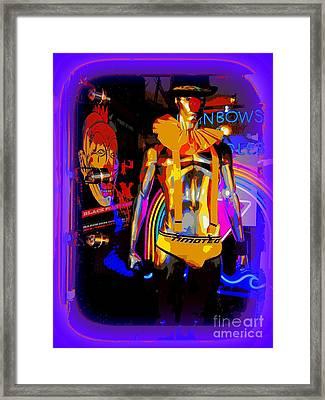 A Clowns Life Framed Print by Ed Weidman
