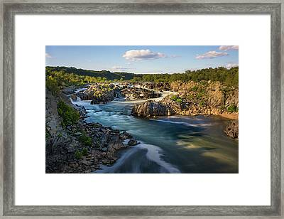 A Day In The Life Of A River Framed Print