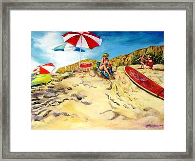A Good Day Framed Print by Kathy Dueker
