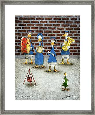 A Joyful Noise... Framed Print by Will Bullas