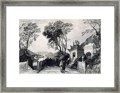 A-ma Temple, Macau, China, 19th Century Framed Print by British Library
