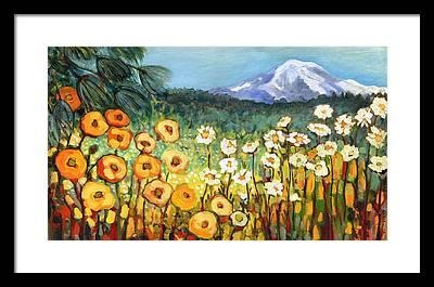 Meadow Framed Prints
