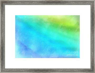 A New Beginning Framed Print by Krissy Katsimbras