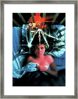 A Nightmare On Elm Street 1984 Framed Print by Unknown