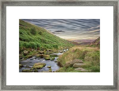 A Peak District View Framed Print